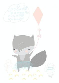 Vicky Riley - Wolfje met vlieger