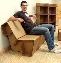 revista digital apuntes de arquitectura mobiliario ecolgico en cartn nuevos cardboard furniture diy