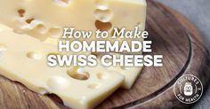 Homemade Swiss Cheese