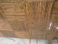 Someone I know would really love this! Bamboo Ceiling