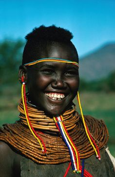 The evidence of Greek writer Lucian (ca. AD), the satirist from Samosata in his writing introduces two Greeks, Lycinus and Timolaus. Beautiful Smile, Black Is Beautiful, Beautiful People, Beautiful Women, African Tribes, African Women, Eric Lafforgue, Steve Mccurry, Tribal People