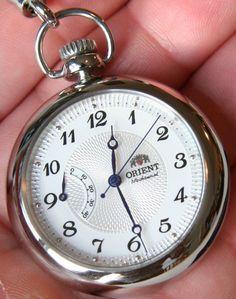 Orient CDD00001W Pocket Watch Review   orient