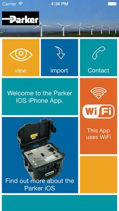 IcountOS - the perfect utility designed to integrate with the Parker icount Oil Sampler Product range. The app allows you to connect to the Parker icountOS wireless WiFi network and download previously saved tests.