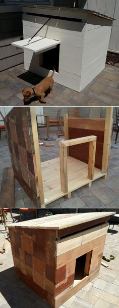 Woof! Awesome DIY Dog Houses DIY Mini Ranch Style Doghouse