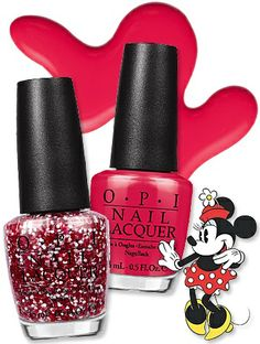 """OPI is putting the """"cute"""" in """"cuticle"""" by giving Minnie Mouse a second nail polish collection! We got a sneak peek at the entire line."""