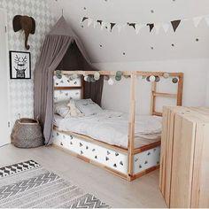 Kura Bed, Bunk Beds, Fantasy Bedroom, Childrens Beds, Ikea Childrens Bedroom, Room Themes, Girls Bedroom, Lego Bedroom, Bedroom Furniture