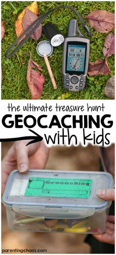Geocaching with Kids - The Ultimate Treasure Hunt!