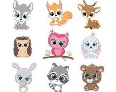 Baby Raccoon, Cute Raccoon, Cute Animal Clipart, Cute Clipart, Cartoon Baby Animals, Cute Baby Animals, Cute Animal Drawings, Cute Drawings, Sleeping Animals