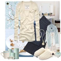 """""""Winter is on it's way."""" by modernfairytale on Polyvore"""