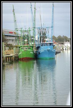 Shrimp boats, Shem Creek Mt. Pleasant SC