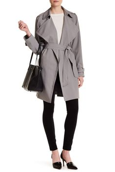 Image of Michael Kors Belted Trench Coat ~ $100 at Nordstrom Rack
