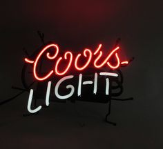 Coors Light Neon Sign Party Supply Ready to Hang Bar Pub