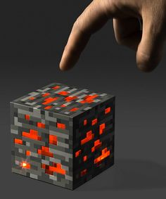 Illuminating even the darkest of places, this redstone ore nightlight is pulled straight from the world of Minecraft and into reality. Its block construction sits securely on any surface to defend against nighttime baddies. 3.5'' W x 4'' H x 3.5'' DPlasticImported