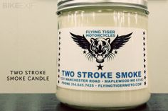 Castrol R candle.