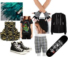 """skater girl"" by rockerchic7 on Polyvore"