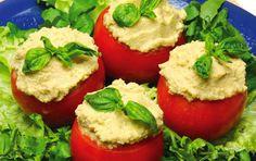 Receitas de Culinária   Vegetarianas   Tomate Recheado com Abacate