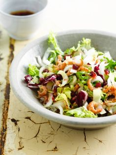 Salade witloof http://njam.tv/recepten/salade-witloof