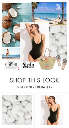 """Shein"" by lader ❤ liked on Polyvore featuring Oscar de la Renta and Rebecca Minkoff"