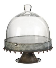 Loving this Large Rust Cake Stand on #zulily! #zulilyfinds