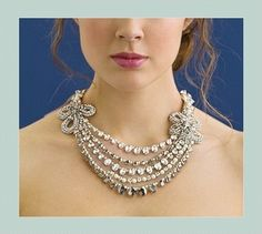 Rivini Statement Necklace. Rivini Statement Necklace on Tradesy Weddings (formerly Recycled Bride), the world's largest wedding marketplace. Price $300.00...Could You Get it For Less? Click Now to Find Out!