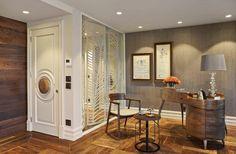 Koray Yavuzer Mimarlık | American Walnut Parke #parquet #parke #woodflooring #parquetflooring #design #livingroom #architect #architecture #interiordesign #interior #homedesign  #wallpannel #walldesign #hungarianherringbone |