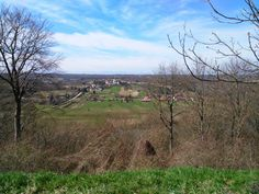 View on kupa valley from top of the hill