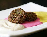 Cantinho Vegetariano: Falafel de Lentilhas (vegana)
