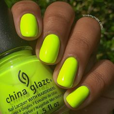 Bought this! Can't wait to rock it! China Glaze Summer Neons Collection - Celtic Sun