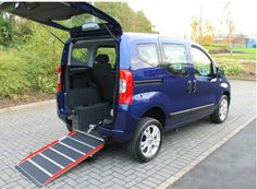 Fiat Qubo 1.3D 16v 75 Mylife Auto with Wheelchair Access