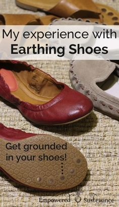 Acupressure Benefits Earthing shoes allow you to reap the health benefits of grounding, plus these are classy and comfy! - Earthing shoes, also called grounding shoes, allow you to reap the beneficial charge of the earth. Here's why I'm a fan! Health And Beauty, Health And Wellness, Health Tips, Health Fitness, Health Goals, Health Motivation, Natural Cures, Natural Healing, Natural Life