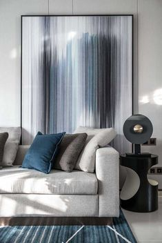 Classic Living Room, Living Room Modern, Living Room Designs, Living Spaces, Home Interior Design, Interior Architecture, Navy Living Rooms, Diy Bedroom Decor, Home Decor