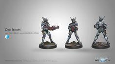 Orc Troops (Boarding Shotgun)