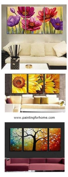 3 Panel Canvas Painting, Extra large hand painted art paintings for home decoration. Large wall art, canvas painting for bedroom, dining room and living room, buy art online. Large Wall Paintings, Canvas Paintings For Sale, Hand Painting Art, Large Painting, Oil Painting Abstract, Abstract Wall Art, Online Painting, Modern Paintings, Painting Canvas