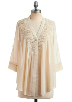 Sheer Your Story Top.