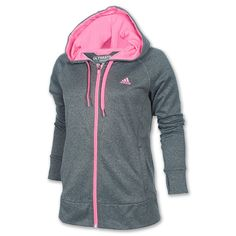 Women's adidas Ultimate Fleece Full-Zip Hoodie| Finish Line |
