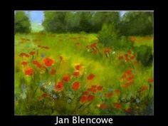 How to paint Springtime Blossom: Impressionist style: Acrylic on Board by Rami Benatar.wmv - YouTube