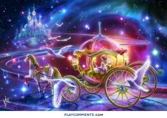 DIY Diamond Embroidery Painting Craft Kit Scenery of Fantasy Carriage Picture With Diamond Mosaic Painting Home Decor Dragon Mystique, Cross Stitch Kits, Cross Stitch Patterns, Cross Stitches, Theme Galaxy, Mosaic Pictures, Glitter Graphics, 5d Diamond Painting, Cross Paintings