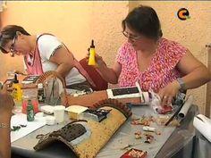 sandylandya@outlook.es Curso de Decoración de Tejas de las Amas de Casa
