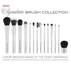 rachel zoe loves #mirabellabeauty #brushes #makeup