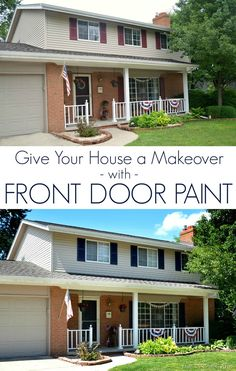 Give Your House a Makeover with Front Door Paint