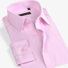 >> Click to Buy << Fashion Solid Formal Business Dress Shirt Men Brand White Pink Blue Soft Cool Long Sleeve Male Casual Shirts Plus Size 4XL #Affiliate