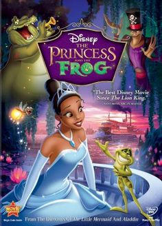 The Princess and the Frog...great for kids learning about Mardis Gras!