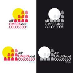 Proposta restyling logo per All'Ombra Del Colosseo www.facebook.com/allombradelcolosseo