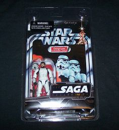 STAR WARS SAGA COLLECTION GEORGE LUCAS IN STORMTROOPER DISGUISE ~ MOC