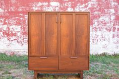 Mid Century Gentleman's Chest/Armoire by MorganFurnDesign on Etsy