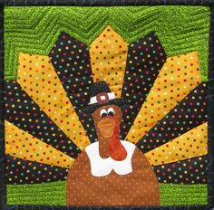 Thanksgiving Quilts and Table Runners Quilt Block Patterns, Applique Patterns, Pattern Blocks, Quilt Blocks, Quilting Tutorials, Quilting Projects, Sewing Projects, Quilting Ideas, Quilting Designs