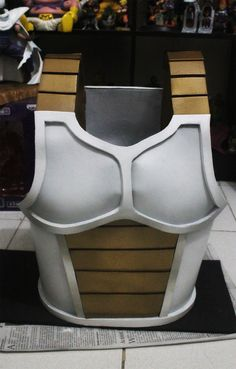 uploaded a latest works of mine for vegeta saiyan armor (cell saga version) of Dragonball Z I am open for commission requests just. Cosplay Armor, Epic Cosplay, Male Cosplay, Cosplay Diy, Cosplay Outfits, Halloween Cosplay, Cosplay Costumes, Dbz, Dragon Ball Z Shirt