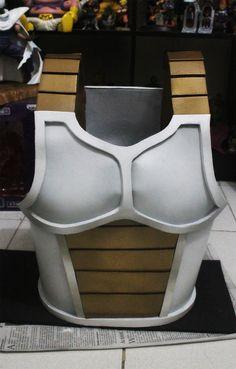 Vegeta Saiyan Armor by jeffbedash325 on DeviantArt