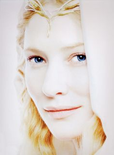 INFJ Fictional Character: Lady Galadriel (kindly but distant and mysterious, very intuitive)