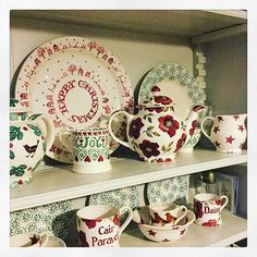 Personalised Christmas Rose Baby Mug and 1 Pint Mug (Christmas 2015) Discontinued